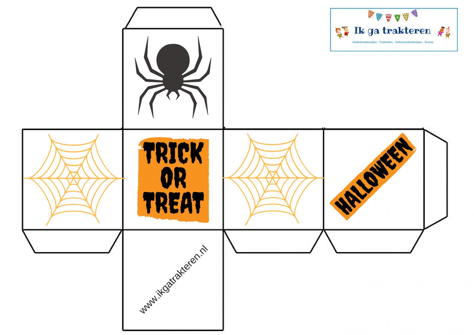 Leuke Halloween Traktaties.Doosjes Maken Gratis Traktatie Nodig Goedkoop En