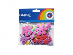 Foam stickers Bloemen