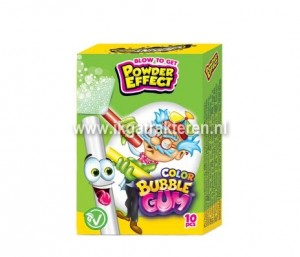 Snoep: Color Bubble Gum met Powder Effect