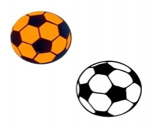 Sticker voetbal